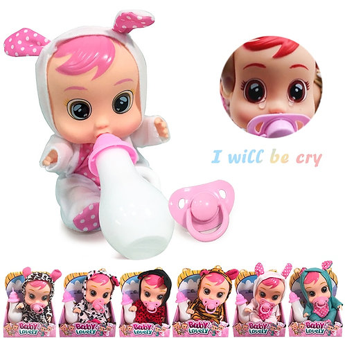 3D Reborn Bebe Dolls 22cm Surprise