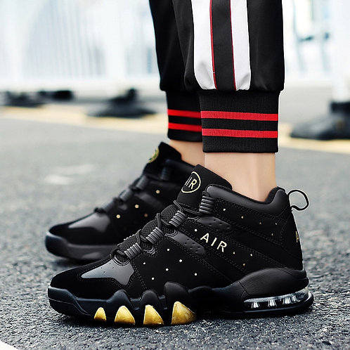 Basketball Shoes Men High-Top Sports