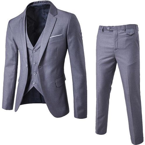 3Pcs/Set Luxury Plus Size Men Suit