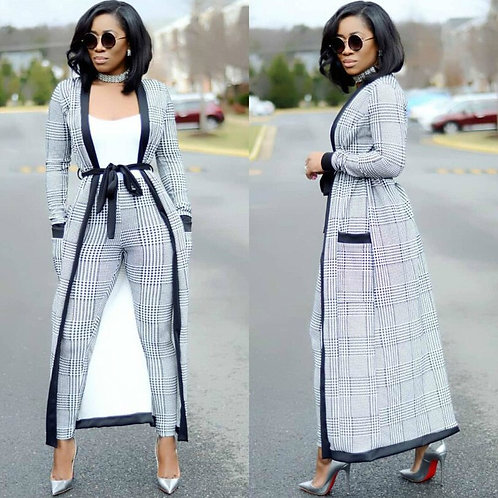 3 Pieces Set African Dresses for Women