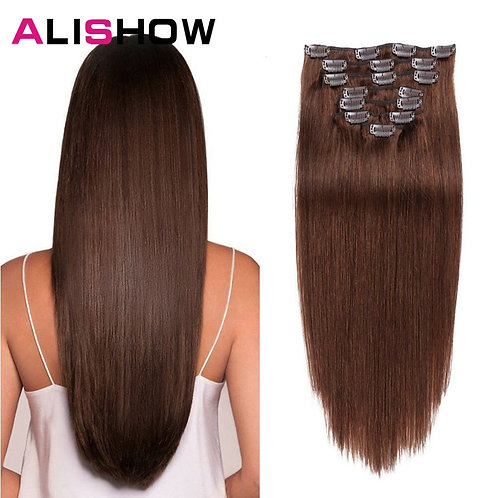 Human Hair Extensions Straight 100% Human Hair Extension