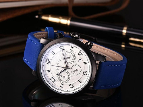 All the dials work AAA crime watch men or womenes stainless steel belt quartz to