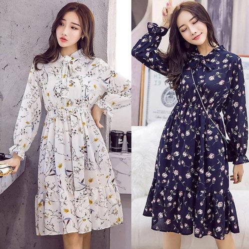 Plus Size 2020 Women Autumn Dresses