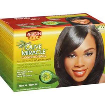 african pride olive miracle regular relaxer