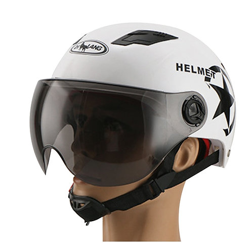 Helmet With Sunscreen for Bicycle  Mountain Bike Road Bike Electric Scooter