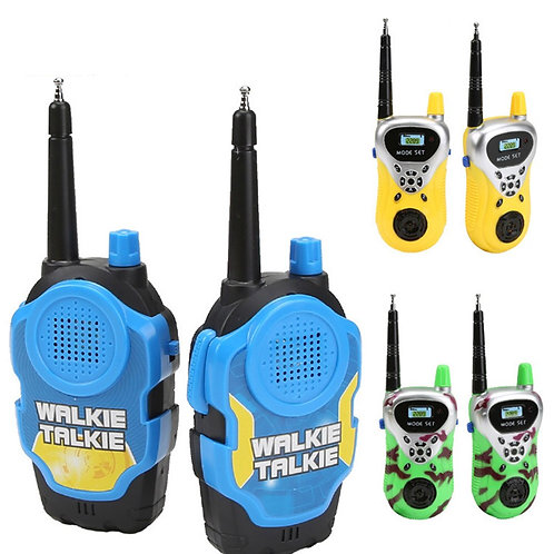 1 Pair Wireless Kids Walkie-Talkie Radio Intercom