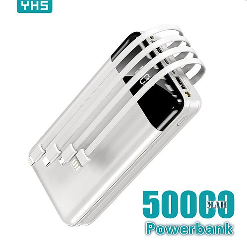 Power Bank Large Capacity  Mobile Phone Charger for Samsung Xiaomi Iphone
