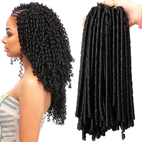 Synthetic Braiding Hair Extension Afro Hairstyles