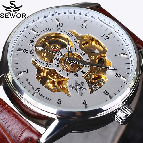 Automatic Mechanical Watch Luxury Brand