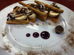 Chocolate waffles (Special)