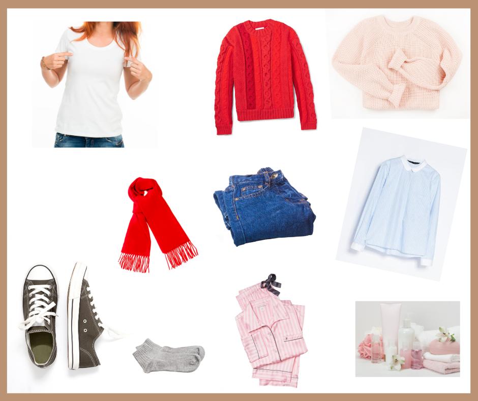 Ideas de ropa para un fin de semana de vacaciones.