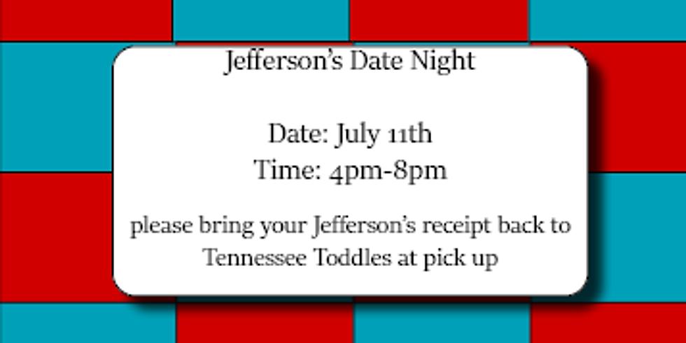 Jefferson's Date Night