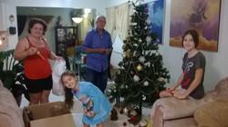 Pedro y familia