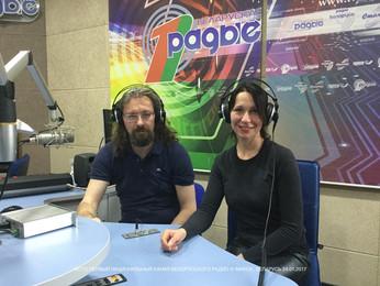 Интервью на Первом национальном канале Белорусского радио.