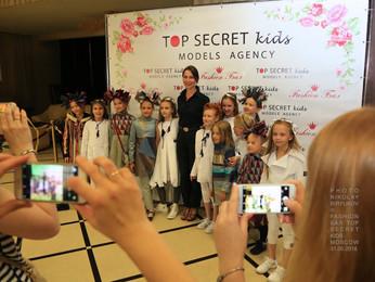 """FASHION БАЛ модельного агенства TOP SECRET kids в Ювелирном доме """"Эстет"""""""