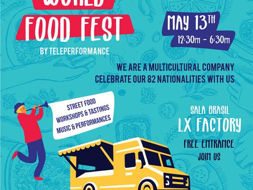 Teleperformance Portugal organiza World Food Fest