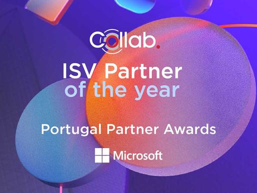 Collab vence prémio ISV Partner of the Year, da Microsoft