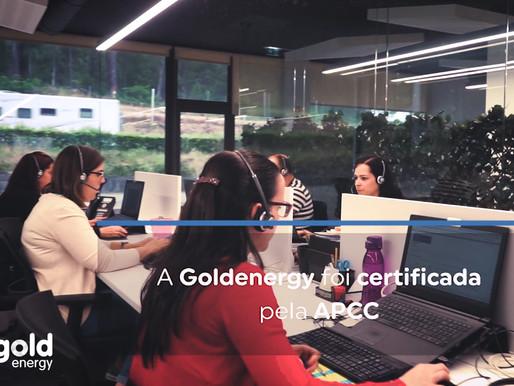 Goldenergy é certificada com o Selo da Qualidade APCC