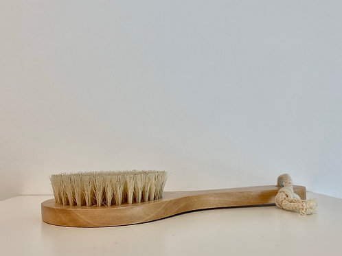 Foot Brush Wooden Handle
