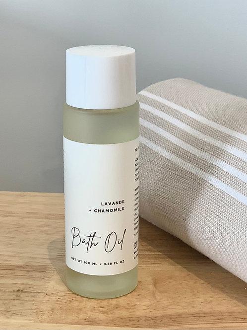 Bath Oil - Lavender & Chamomile