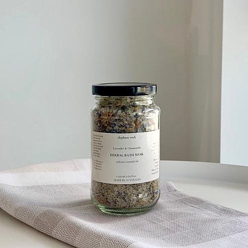 Herbal Bath Soak - Lavender & Chamomile