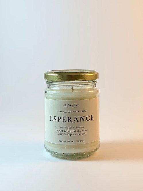 Pure Soy Wax Jar Candle - Esperance