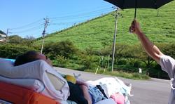 伊豆大室山を望む