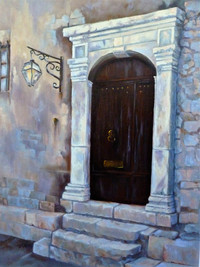 Door of Distinction, St. Paul de Vence, France