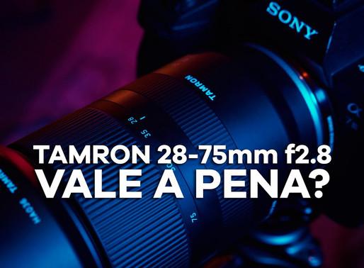 Lente Tamron 28-75mm f2.8 vale a pena?