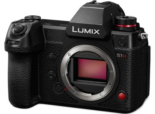 Atualização de firmware Panasonic LUMIX S1H - traz correção de ruído no modo HFR e mais...