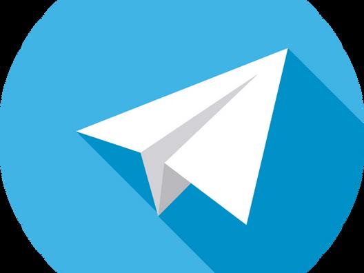 Estamos no Telegram!