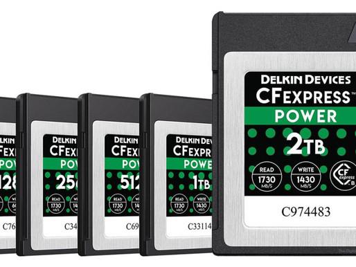 O cartão de 2 TB CFexpress da Delkin é maior que o disco rígido do seu computador!