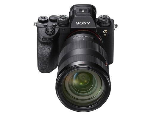 Sony lançou atualizações de firmware para a câmera A9 II e lentes GM de 24mm e 135mm