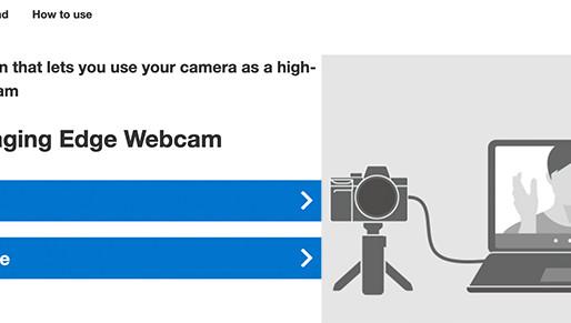 Finalmente! Sony lança software que permite que você use câmeras Sony como uma webcam