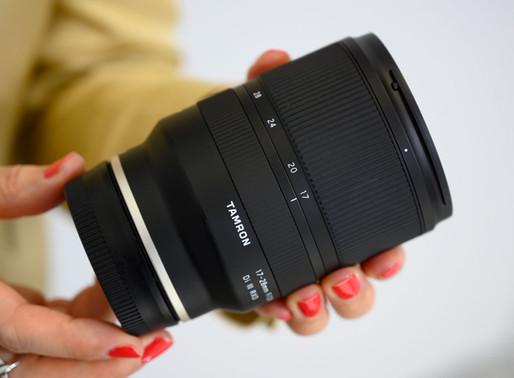 Nova atualização de firmware para a Tamrom 17-28mm f/2.8 FE