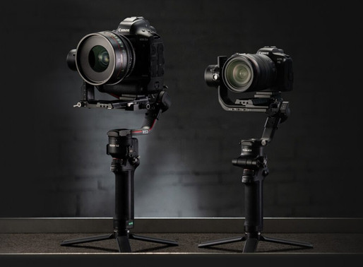 DJI acaba de anunciar dois novos gimbals portáteis: o RS 2 e o RSC 2