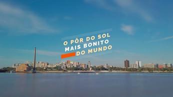 PORTO ALEGRE | O PÔR DO SOL MAIS BONITO DO MUNDO