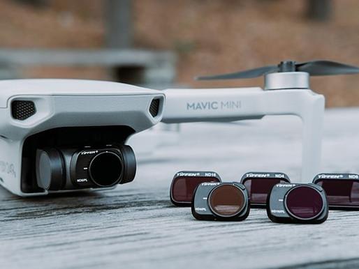 Tiffen anuncia kits de filtro ND para o drone DJI Mavic Mini