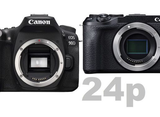 Canon inclui modo 24p para câmeras EOS e PowerShot recentemente lançadas