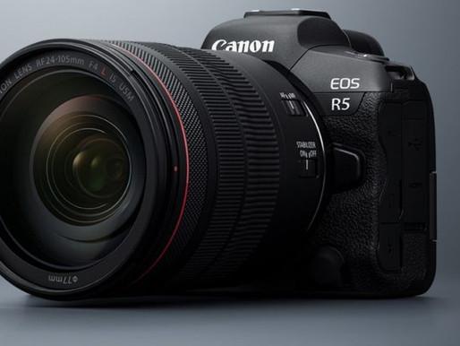 Canon emite declaração sobre superaquecimento da EOS R5 e R6 durante a gravação de vídeo