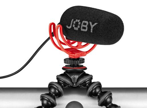 JOBY Wavo - Novo microfone Vlogger ultraleve