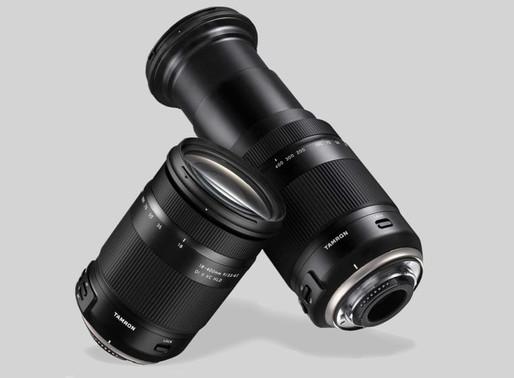A Tamron projeta lente megazoom de 18-500 mm: todas as lentes que você precisa em uma!