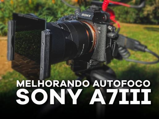 Melhorando o Autofoco da Sony a7III