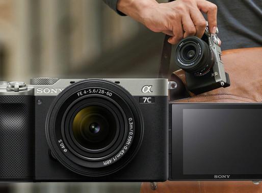 Anunciada a Sony a7C: a câmera mirrorless full-frame mais compacta