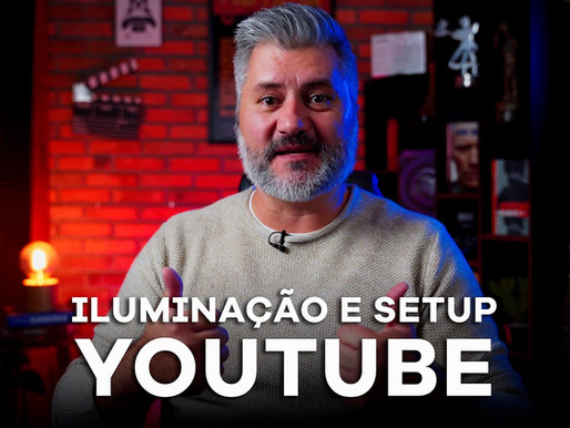 Luz e Setup pros vídeos do Youtube