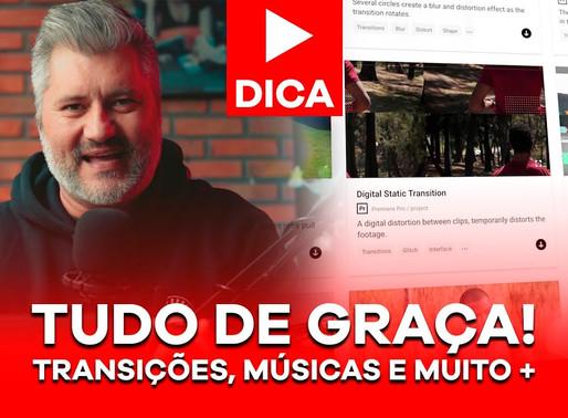 TUDO DE GRAÇA: Transições, músicas, títulos animados e muito mais para os teus vídeos