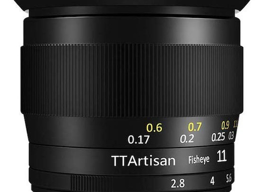 A lente fisheye full-frame TTArtisan 11mm f/2.8 agora também está disponível para Sony
