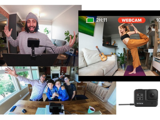 GoPro HERO8 Black - Funcionalidade de webcam USB para macOS