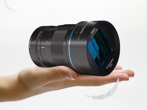 Sirui anuncia lente anamórfica F1.8 de 50mm para câmeras mirrorless