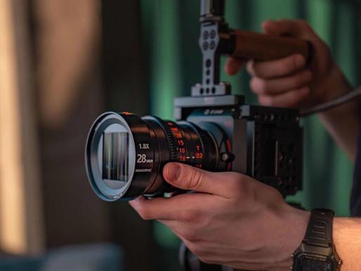 Vazen lança lente anamórfica 28mm T2.2 MFT